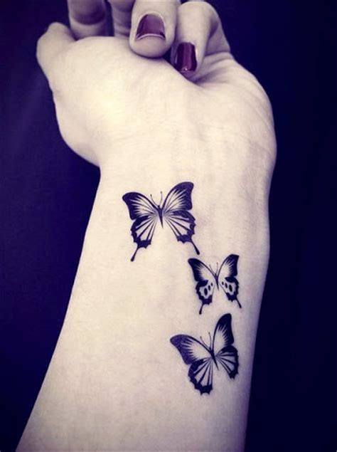 black and white butterfly tattoos 43 awesome butterfly tattoos on wrist