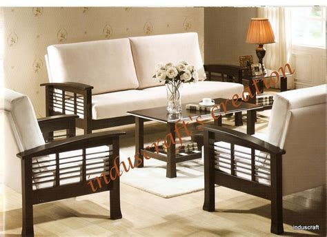 simple living room furniture designs sofa design casual sitting wooden sofa set designs