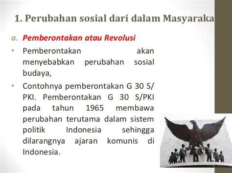 Sistom Politik 1965 Original perubahan sosial