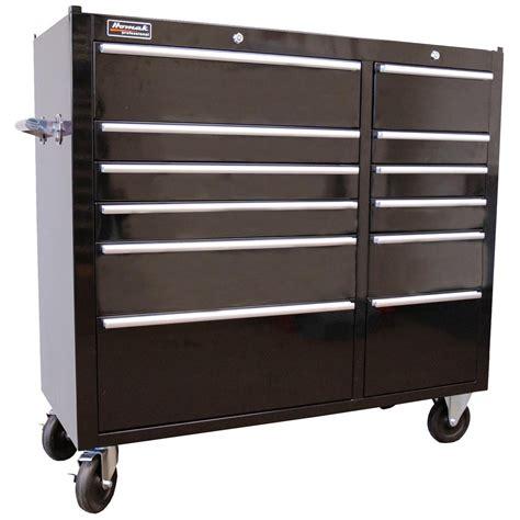homak 174 professional 41 quot 12 drawer rolling cabinet