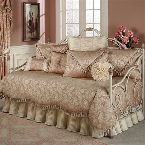 Beautiful Day Set bed bath beautiful day bedding with wrought iron daybed