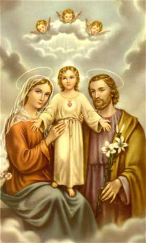 imagenes sobre la sagrada familia imagenes religiosas la sagrada familia san jose la