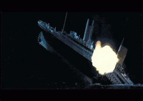 titanic boat sinking gif the gallery for gt titanic sinking gif