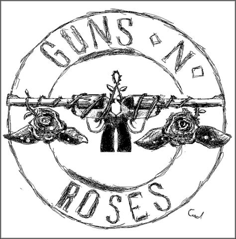 guns and roses coloring page guns n roses free coloring pages