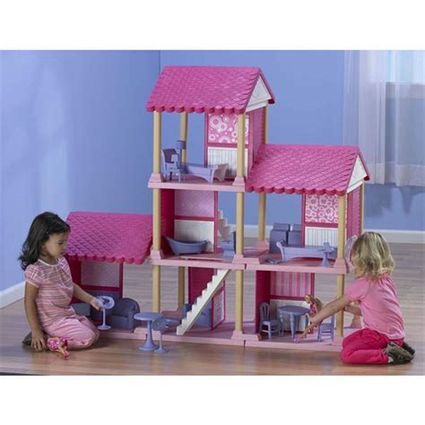 fashion doll house fashion delightful dollhouse and fashion doll coupe from american plastic toys review