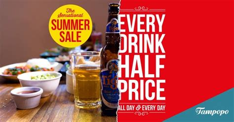 Eel Drink Summer Sale by Half Price Drinks Topo Celebrate Summer With 50
