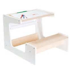 bureau enfant 4 ans petit bureau naturel blanc artibul cr 233 ation oxybul pour