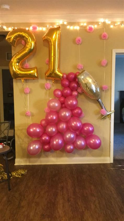 21st Decorations by 45 Awesome Diy Balloon Decor Ideas Pretty