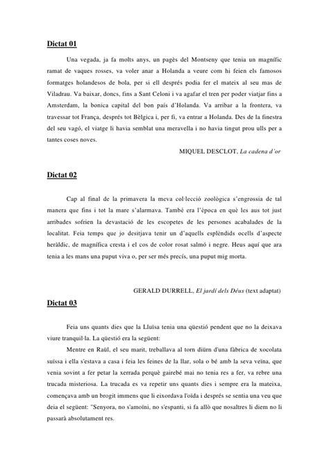 llengua catalana 2n eso 8448939719 dictats peparats 2n eso