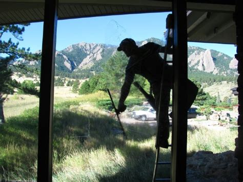 window washing and cleaning boulder colorado window king north star window cleaning boulder gutter power washing