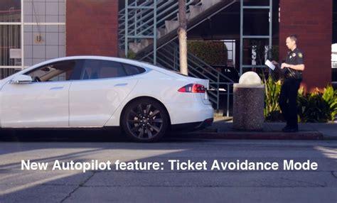 tesla tickets tesla model s ticket avoidance mode a feature of