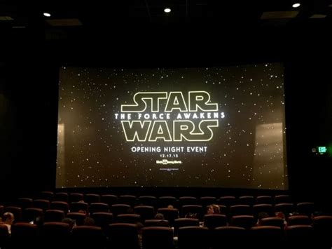 opening night fan event star wars photos star wars the force awakens opening night event