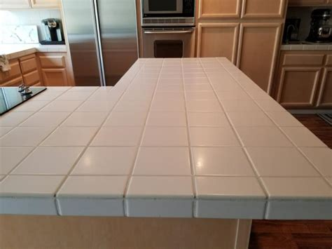 Stone Coat Countertop Over Old Tile