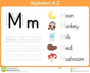 tracing letters worksheet a z abitlikethis