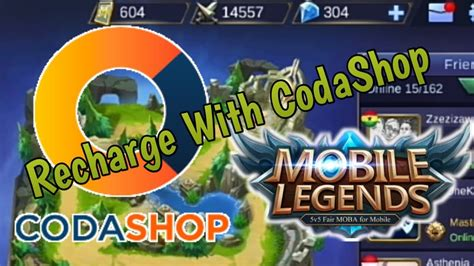 codashop mobile legend malaysia how to recharge mobile legends with codashop for