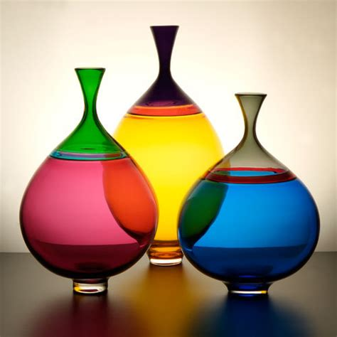 Two Vases by One For You Two For Me Glass Vases From Nine Iron