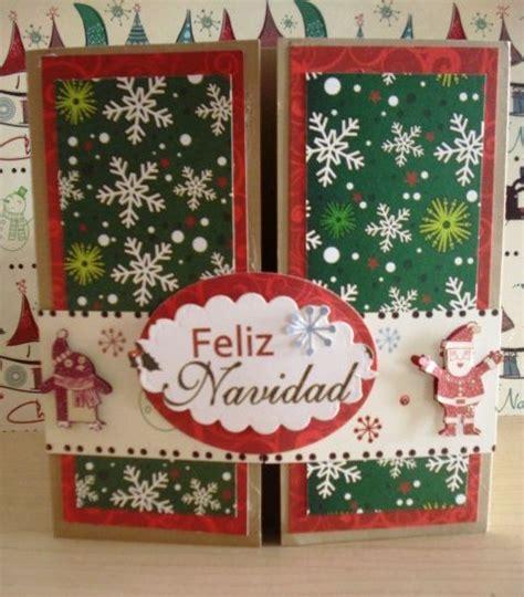 imagenes navidad scrapbook tarjetas de navidad hechas con papel de sting paper