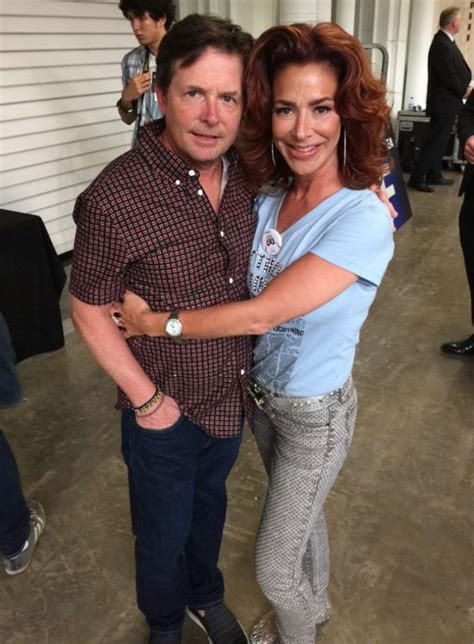 elisabeth shue michael j fox back to the future star claudia wells reminisces about