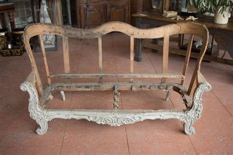 sofa frame for sale 19th century carved wood sofa frame for sale at 1stdibs