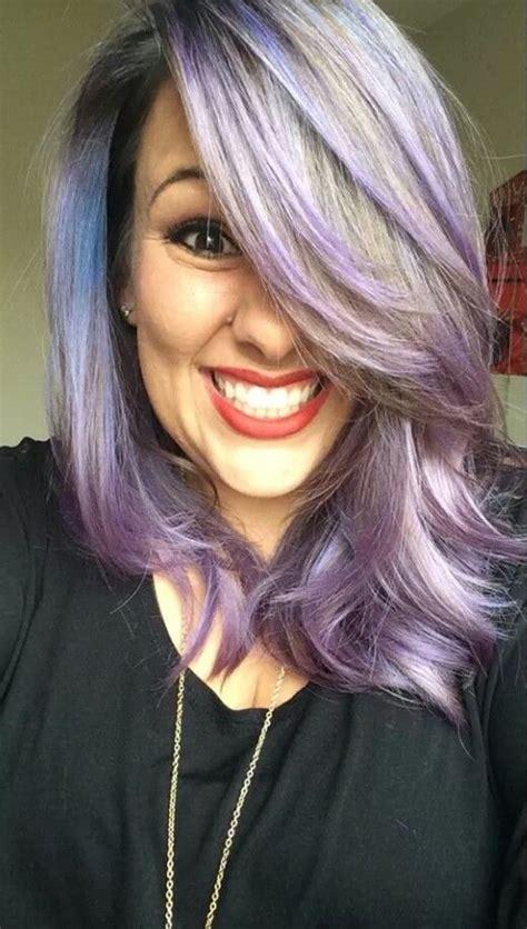 silver hair with pravana lavender lilac silver pravana long hair my style