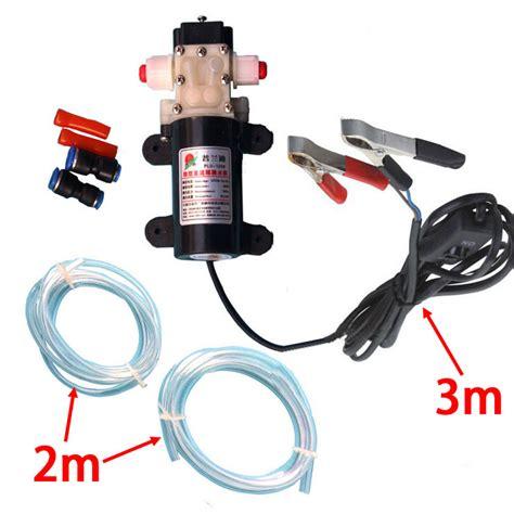 professional crocodie clip dc  engine oil extractor change pump engine oil diesel suction