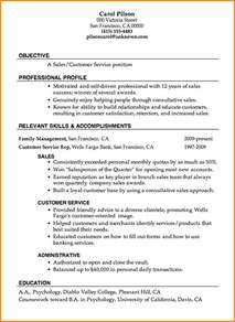 Great Exle Resumes 5 great sle resumes invoice template
