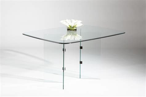 Glass Dining Table With Glass Base X Base Dining Table Glass Top 187 Gallery Dining
