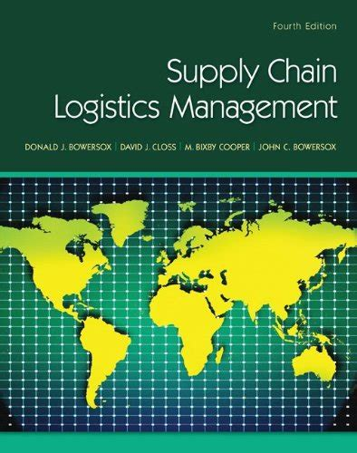 Logistics Management Notes For Mba Pdf by Supply Chain Logistics Management Book 171 Eric S Notes