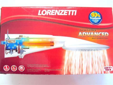 chuveiro ducha lorenzetti advanced 220v 6400w eletrica - Ducha Advanced Lorenzetti