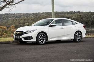 2016 honda civic vti s sedan review performancedrive
