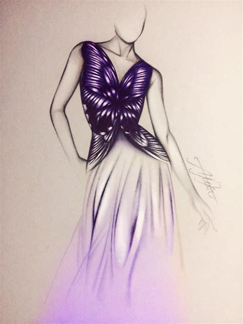 Buterfly Dres butterfly dress by alexaink on deviantart