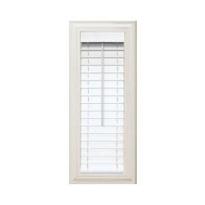 home decorators blinds home depot home decorators collection cut to width white 2 in faux wood blind 11 in w x 48 in l