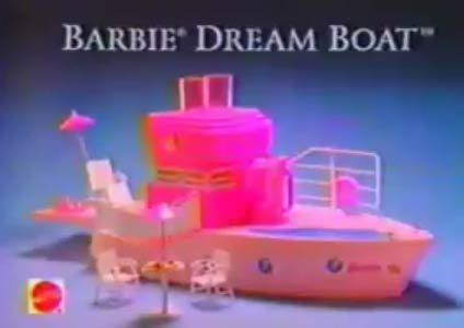 barbie boat bed barbie dream boat 1994 barbie images barbie clothes and
