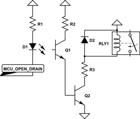 transistor driver relay microcontroller driving a relay with transistor and opto isolator electrical engineering