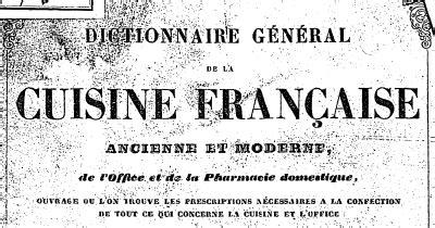 dictionnaire cuisine francais t 233 l 233 charger dictionnaire g 233 n 233 ral de la cuisine fran 231 aise