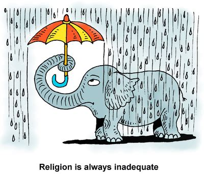 Gray Paint by Image Elephant With Umbrella Religion Is Always Inadequate Christart Com