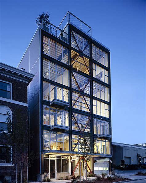 shed architecture design seattle modern architects industrial loft in seattle functionally blending materials