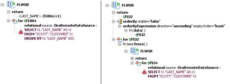 oracle xquery tutorial xquery engine and sql