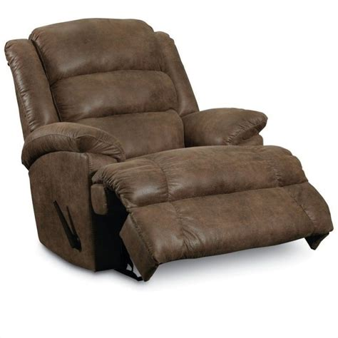 lane leather recliner chair lane furniture knox faux leather recliner in mocha 8418