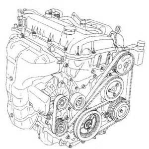 i need a serpentine belt diagram for mazda 6 2005 4 cyl engine