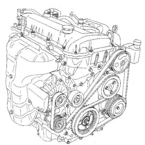 2008 ford escape 4 cyl engine, 2008, free engine image for