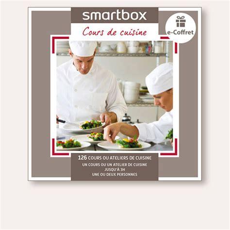 cours de cuisine box coffret cadeau cours de cuisine smartbox