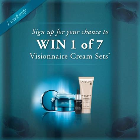 Lancome Giveaway 2015 - lancome winter skincare sweepstakes