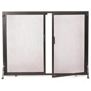 pictured here is the classic fireplace screen doors