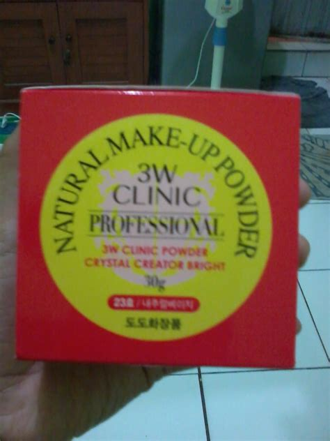 Bedak Make Review always in my and palgantong 3w clinic