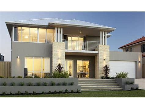 photo of a concrete house exterior from real australian home house facade photo 238876