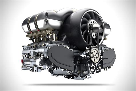porsche singer engine singer x williams 500 hp air cooled engine hiconsumption