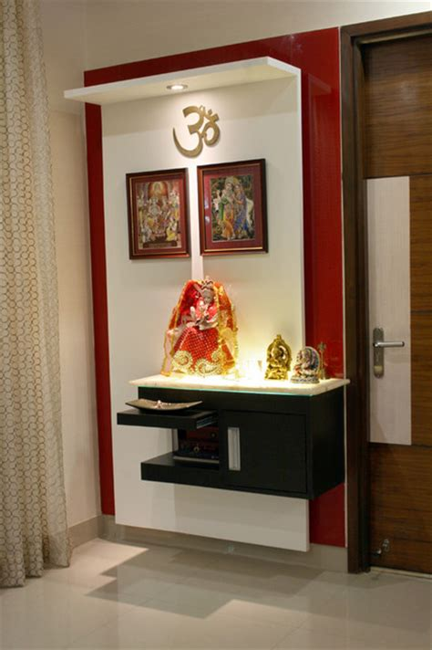 interior design temple home residence in hyderabad