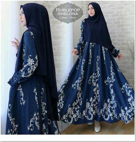 Jual Gamis Cantik jual gamis muslimah cantik bahan bubblepop