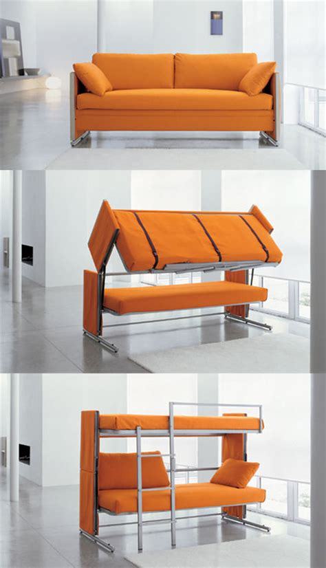sofa that converts to a bunk bed 16 exles of transforming furniture 1 design per day
